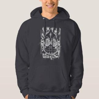 Dia De Los Muertos (White) Hooded Sweatshirt