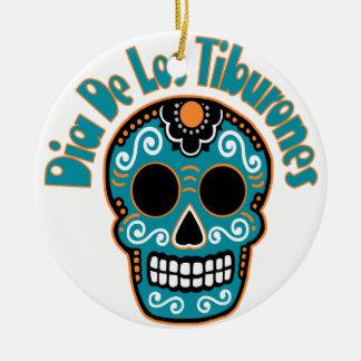Dia De Los Tiburones.png Christmas Ornament