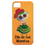 Dia de Muertos Mexican Miss Death Barely There iPhone 5 Case