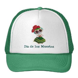 Dia de Muertos Mexican Miss Death Hats