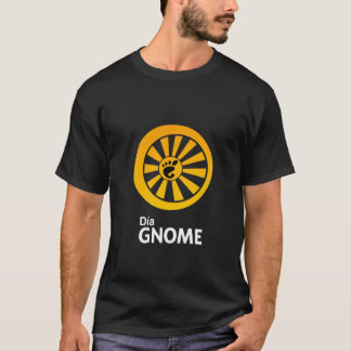 Dia GNOME ladies T-Shirt
