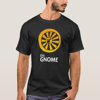 Dia GNOME mens T-Shirt
