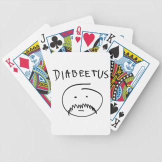 Diabeetus Sketch Version Bicycle Card Decks