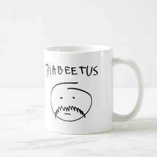 Diabeetus (Sketch Version) Coffee Mug