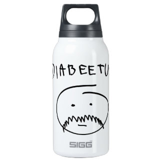 Diabeetus (Sketch Version) Insulated Water Bottle