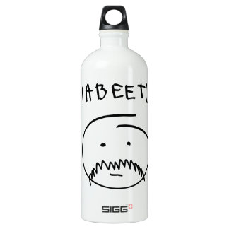 Diabeetus (Sketch Version) Water Bottle