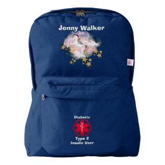 Diabetes Alert Carry All Backpack