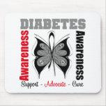 Diabetes Awareness Butterfly