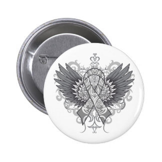 Diabetes Awareness Cool Wings Pinback Button