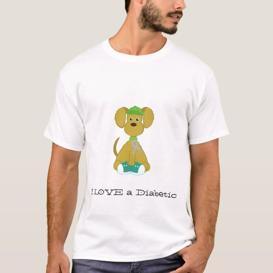 Diabetes Dog Men's T-Shirt