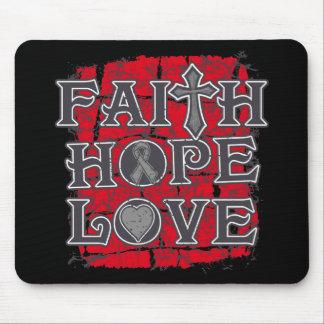 Diabetes Faith Hope Love Mousepad