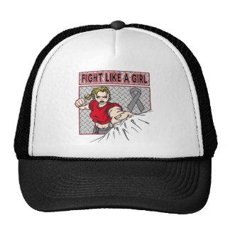 Diabetes Fight Like A Girl Punch Trucker Hat
