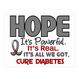Diabetes HOPE 1 Postcard