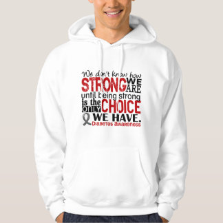Diabetes How Strong We Are Hoodie