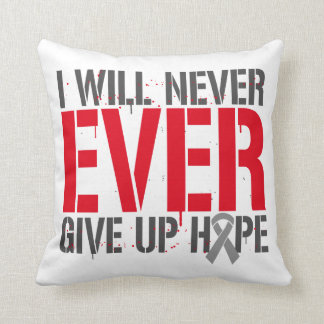 Diabetes I Will Never Ever Give Up Hope Pillow