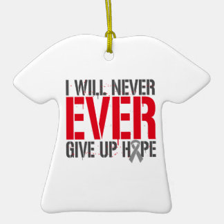 Diabetes I Will Never Ever Give Up Hope Christmas Ornament