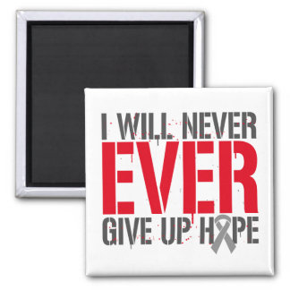Diabetes I Will Never Ever Give Up Hope Magnets