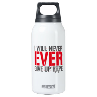 Diabetes I Will Never Ever Give Up Hope 10 Oz Insulated SIGG Thermos Water Bottle