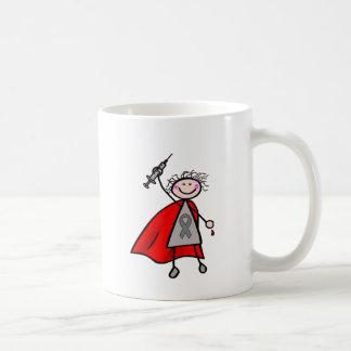 Diabetes Insulin Superhero Girl Coffee Mug