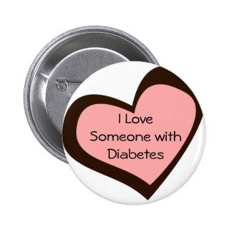 Diabetes Love Pin