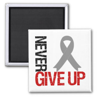 Diabetes Never Give Up Hope Ribbon Fridge Magnet