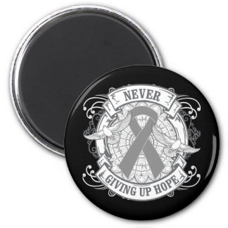 Diabetes Never Giving Up Hope 6 Cm Round Magnet
