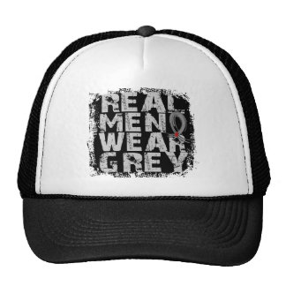 Diabetes Real Men Wear Grey Cap