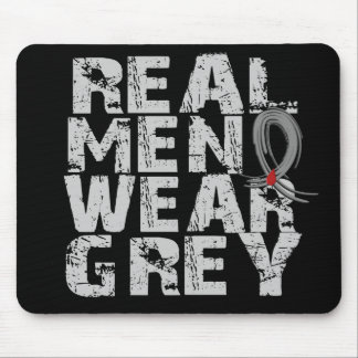 Diabetes Real Men Wear Grey Mouse Pads