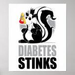 Diabetes Stinks Print