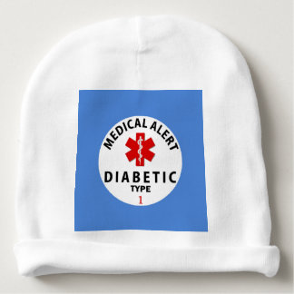DIABETES TYPE 1 BABY BEANIE