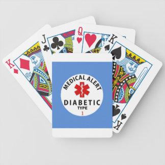 DIABETES TYPE 1 BICYCLE PLAYING CARDS