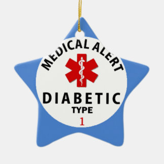 DIABETES TYPE 1 CHRISTMAS ORNAMENT