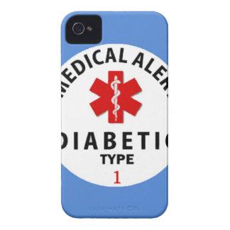 DIABETES TYPE 1 iPhone 4 Case-Mate CASE