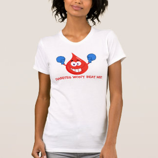 Diabetes Won't Beat Me T-Shirt