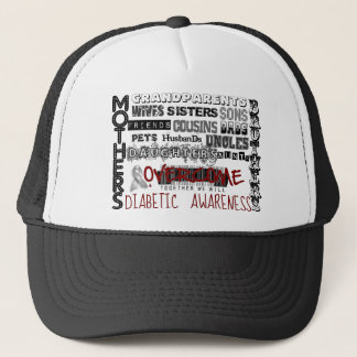 DIABETIC AWARENESS TRUCKER HAT