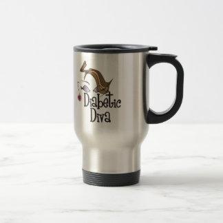 Diabetic Diva Travel Mug