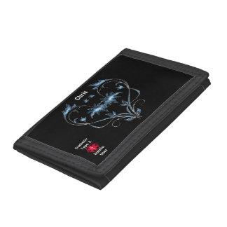 Diabetic Type 2 Tri-fold Wallets