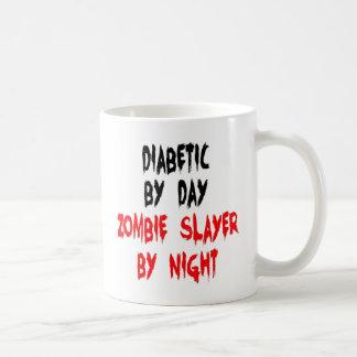 Diabetic Zombie Slayer Basic White Mug