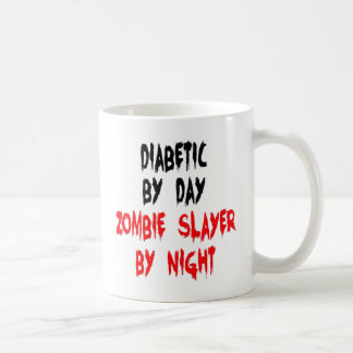 Diabetic Zombie Slayer Coffee Mug