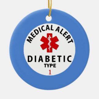 DIABETIES TYPE 1 CHRISTMAS ORNAMENT