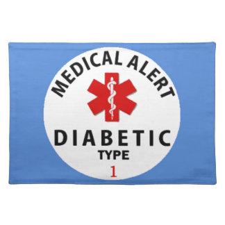 DIABETIES TYPE 1 PLACEMAT