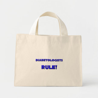 Diabetologists Rule! Tote Bags