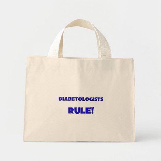 Diabetologists Rule! Tote Bags