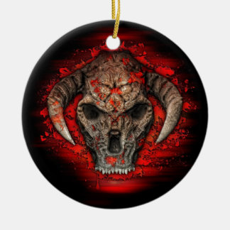 Diablo Christmas Ornament