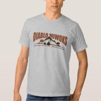 Diablo MiWoks - Adult T T-shirts
