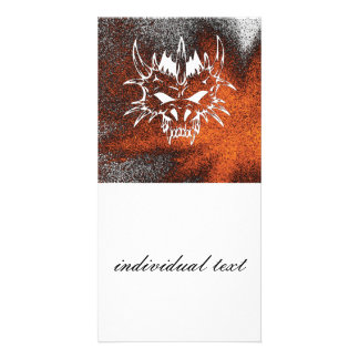 diabolic fire (C) Customized Photo Card