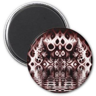 Diabolical Creature 6 Cm Round Magnet