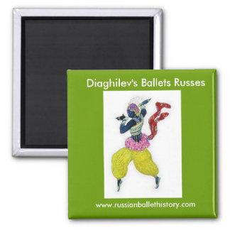 Diaghilev s Ballets Russes Magnet