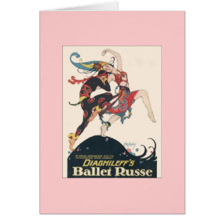 Diaghilev's Ballets Russes Card