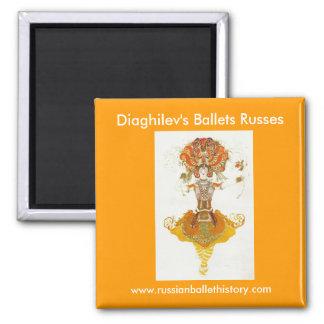 Diaghilev's Ballets Russes Magnet